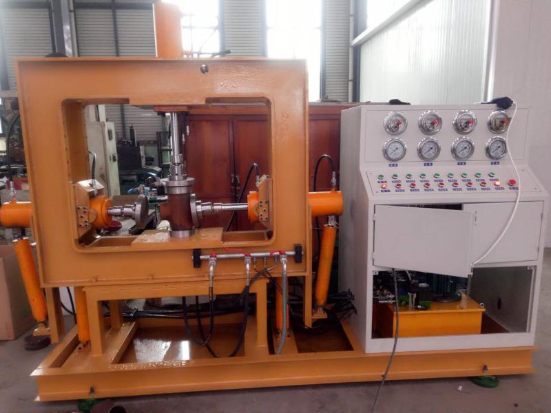 淄博长迅环保设备有限公司GJ-SJ-220管件试压机