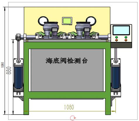 预售 API阀检测台 海底阀检测台 淄博长迅压力试验台